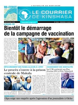 Les Dépêches de Brazzaville : Édition brazzaville du 05 mars 2021
