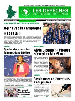 Les Dépêches de Brazzaville : Édition du 6e jour du 06 mars 2021