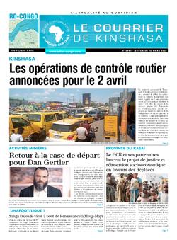 Les Dépêches de Brazzaville : Édition brazzaville du 10 mars 2021