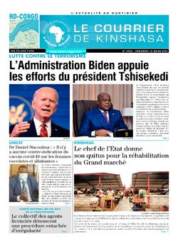 Les Dépêches de Brazzaville : Édition brazzaville du 12 mars 2021