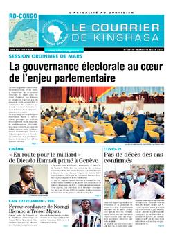 Les Dépêches de Brazzaville : Édition brazzaville du 16 mars 2021