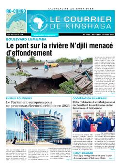 Les Dépêches de Brazzaville : Édition brazzaville du 17 mars 2021