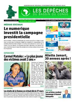 Les Dépêches de Brazzaville : Édition du 6e jour du 20 mars 2021