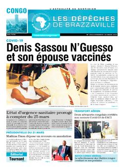 Les Dépêches de Brazzaville : Édition brazzaville du 26 mars 2021