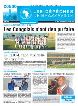 Les Dépêches de Brazzaville : Édition brazzaville du 31 mars 2021