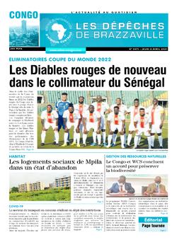 Les Dépêches de Brazzaville : Édition brazzaville du 08 avril 2021
