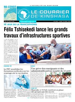Les Dépêches de Brazzaville : Édition brazzaville du 12 avril 2021