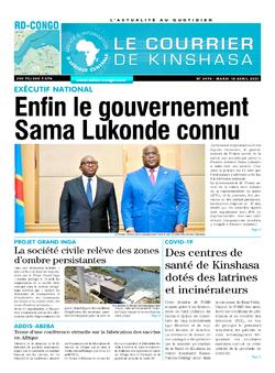 Les Dépêches de Brazzaville : Édition brazzaville du 13 avril 2021