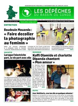 Les Dépêches de Brazzaville : Édition du 6e jour du 17 avril 2021