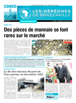 Les Dépêches de Brazzaville : Édition brazzaville du 23 avril 2021