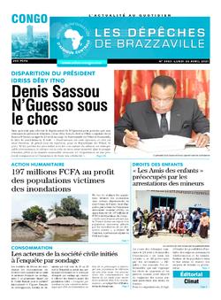 Les Dépêches de Brazzaville : Édition brazzaville du 26 avril 2021