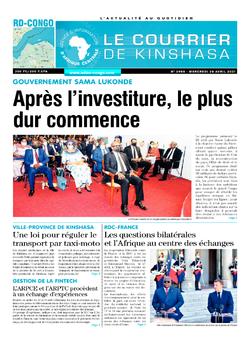 Les Dépêches de Brazzaville : Édition brazzaville du 28 avril 2021