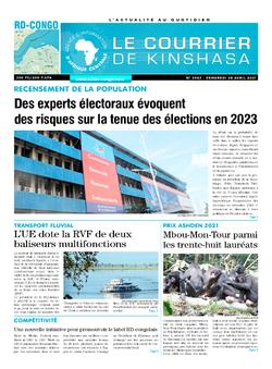 Les Dépêches de Brazzaville : Édition brazzaville du 30 avril 2021