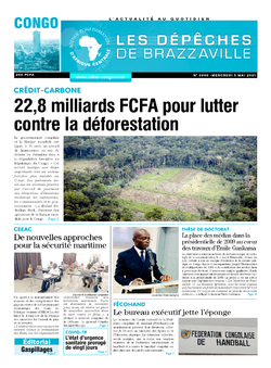 Les Dépêches de Brazzaville : Édition brazzaville du 05 mai 2021