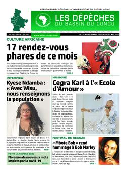 Les Dépêches de Brazzaville : Édition du 6e jour du 08 mai 2021