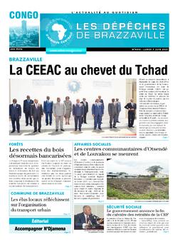Les Dépêches de Brazzaville : Édition brazzaville du 07 juin 2021