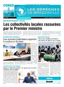 Les Dépêches de Brazzaville : Édition brazzaville du 23 juin 2021