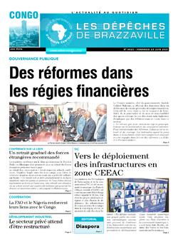 Les Dépêches de Brazzaville : Édition brazzaville du 25 juin 2021