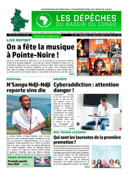 Les Dépêches de Brazzaville : Édition du 6e jour du 26 juin 2021