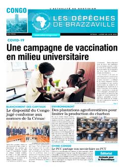 Les Dépêches de Brazzaville : Édition brazzaville du 28 juin 2021