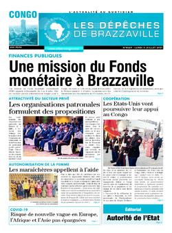 Les Dépêches de Brazzaville : Édition brazzaville du 05 juillet 2021