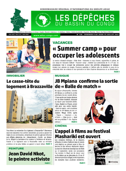 Les Dépêches de Brazzaville : Édition du 6e jour du 10 juillet 2021