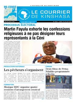 Les Dépêches de Brazzaville : Édition brazzaville du 12 juillet 2021