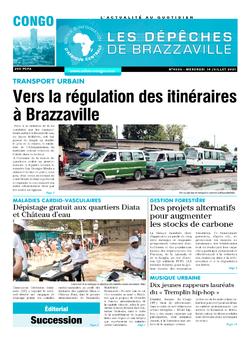 Les Dépêches de Brazzaville : Édition brazzaville du 14 juillet 2021