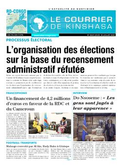 Les Dépêches de Brazzaville : Édition brazzaville du 15 juillet 2021