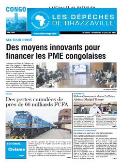Les Dépêches de Brazzaville : Édition brazzaville du 16 juillet 2021