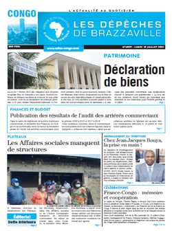 Les Dépêches de Brazzaville : Édition brazzaville du 19 juillet 2021