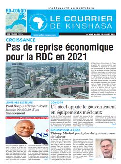 Les Dépêches de Brazzaville : Édition brazzaville du 20 juillet 2021