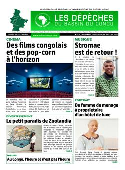 Les Dépêches de Brazzaville : Édition du 6e jour du 24 juillet 2021
