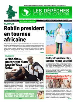 Les Dépêches de Brazzaville : Édition du 6e jour du 31 juillet 2021