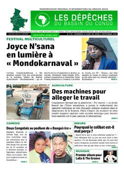 Les Dépêches de Brazzaville : Édition du 6e jour du 28 août 2021