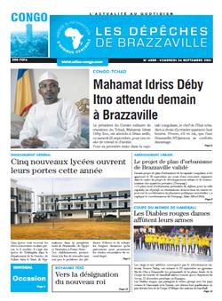 Les Dépêches de Brazzaville : Édition brazzaville du 24 septembre 2021