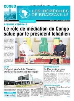 Les Dépêches de Brazzaville : Édition brazzaville du 27 septembre 2021