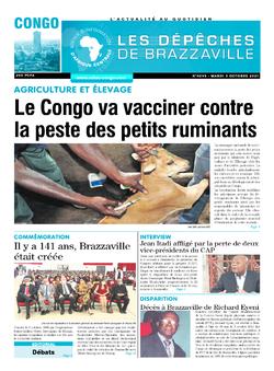 Les Dépêches de Brazzaville : Édition brazzaville du 05 octobre 2021