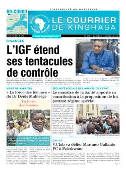 Les Dépêches de Brazzaville : Édition brazzaville du 13 octobre 2021