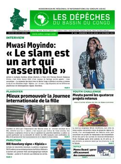 Les Dépêches de Brazzaville : Édition du 6e jour du 16 octobre 2021
