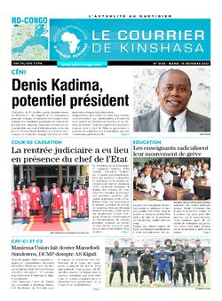 Les Dépêches de Brazzaville : Édition brazzaville du 19 octobre 2021