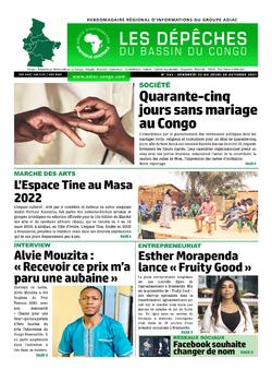 Les Dépêches de Brazzaville : Édition du 6e jour du 23 octobre 2021