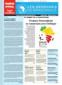 Les Dépèches de Brazzaville : Edition spéciale du 21 novembre 2014