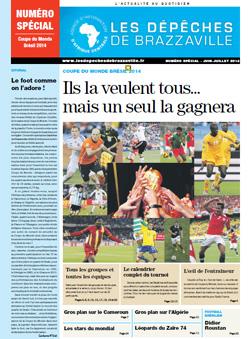 Les Dépèches de Brazzaville : Edition spéciale du 12 juin 2014