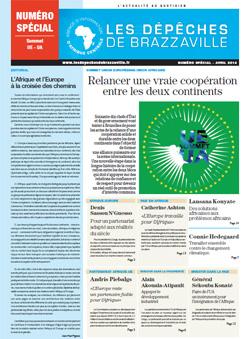 Les Dépèches de Brazzaville : Edition spéciale du 28 mars 2014