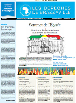 Les Dépèches de Brazzaville : Edition spéciale du 06 novembre 2013
